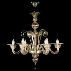 murano chandelier for sale - Google Search