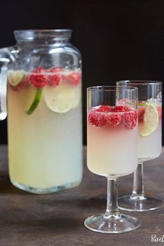 9 Punch-Bowl Cocktails to Make Over the Holidays #purewow #party #food #recipe #entertaining #holiday #liquor #drink #cocktail