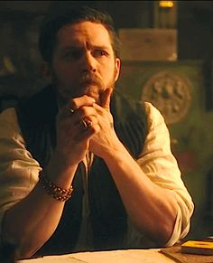 Loved Tom Hardy before, loved him even more now Peaky Blinders. Loved Tom Hardy before, loved him even more now Peaky Blinders Tv Series, Peaky Blinders Quotes, Tom Hardy Variations, Tom Hardy Legend, Alfie Solomons, Tv Series 2013, Top Tv Shows, Perfect Man, Gorgeous Men