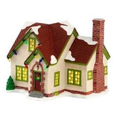 Christmas Village Houses and Accessories - Bing images