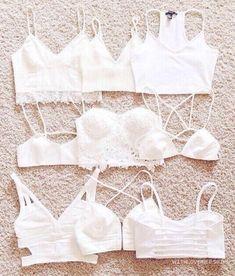 white bralets