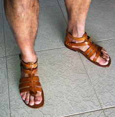 how to make men gladiator sandals diy - Buscar con Google