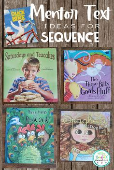 Teaching Fourth: Mentor Text Ideas for Teaching Sequence Reading Resources, Reading Strategies, Reading Skills, Teaching Reading, Comprehension Strategies, Teaching Ideas, Reading Comprehension, Reading Lessons, Classroom Resources