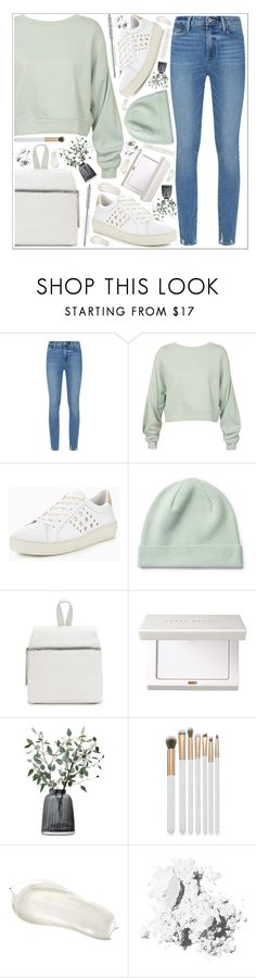 """""""style"""" by lena-volodivchyk ❤ liked on Polyvore featuring Paige Denim, Sans Souci, Tommy Hilfiger, LSA International, Spectrum and Bobbi Brown Cosmetics"""