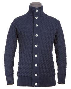 S.N.S Herning cardigan. Knitted in Denmark with 1.2 kilos of virgin wool.