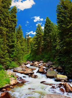 Goose Creek vertorama   McCall, Idaho