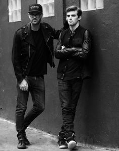 NYC based DJs The Chainsmokers Andrew Taggart and Alex Pall  check out more about them on http://twelvmag.com/music/chainsmokers