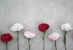 Гвоздики ко Дню Победы своими руками! - акция в интернет-магазине Кораблик