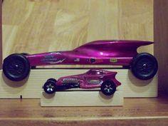 Pinewood Derby car ~ Hot Wheels copycat