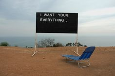 Tommy Coleman I WANT YOUR EVERYTHING  Wood, Enamel, & Tape 2013