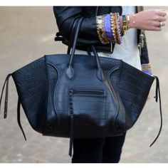 Celine phantom bag -- i need this bag.