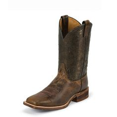 Tan Damiana Cowhide Men's Western Boot By Justin