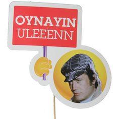 Oynayın Uleeenn Konuşma El Pankartı