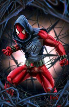 Marvel Comics, Marvel Vs, Disney Marvel, Marvel Heroes, Marvel Characters, Black Spiderman, Amazing Spiderman, Spiderman Poster, Spiderman Art