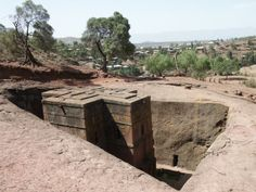 A Lalibela carved church, Ethiopia by Eric Lafforgue, via Flickr