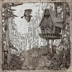 Baba Yaga - one of my favorite tales