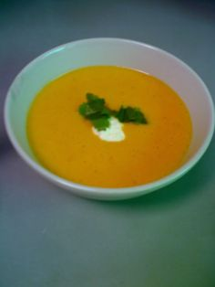 Roast Pumpkin Soup, Oven Roast, Coriander, Allrecipes, Sour Cream, Entrees, Curry, Cooking Recipes, Healthy