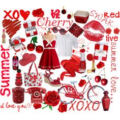 Love this red inspiration board...not necessarily wedding but for pure inspiration