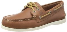 Sperry Top-Sider Men's A/O 2-Eye Boat Shoe, Tan