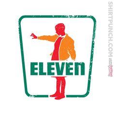 7-11 Stranger Things | The World's Favorite Shirt Shop | ShirtPunch Stranger Things Shirt, Eleven Stranger Things, Good Things, Starnger Things, 7 Eleven, Fandoms, Memes, Geek Stuff, Mouth Breather