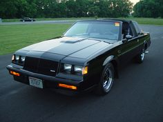 1987 Buick Regal Grand National GNX 'Grand National Experimental' Produced by McLaren with a L Garret Turbocharged engine. Buick underrated the GNX at 245 hp kW) and a very substantial 360 lb·ft N·m) of torque. My Dream Car, Dream Cars, Buick Grand National Gnx, Milan Kundera, Pt Cruiser, Buick Regal, Hot Rides, Performance Cars, American Muscle Cars