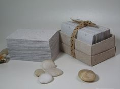 7 best eco business cards images on pinterest business card 100 pcs blank business card made from handmade recycled paper reheart Choice Image