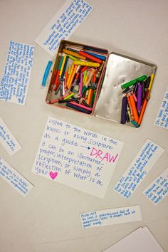 7 Prayer Station Ideas, Diy And Crafts, Domestic Fashionista: 7 Prayer Station Ideas. Prayer Corner, Prayer Wall, Prayer Room, Prayer Board, Youth Activities, Church Activities, Creative Activities, Therapy Activities, Prayer Ministry