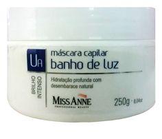 Blog da Luh Fernandez: Máscara capilar Banho de Luz Miss Anne