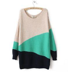 Geometry Blending Sweater- love the color blocking #stichfix #wishlist
