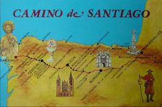 12. Do el Camino de Santiago. is the pilgrimage route to the Cathedral of Santiago de Compostela in Galicia in northwestern Spain, where tradition has it that the remains of the apostle Saint James are buried.
