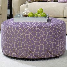 I pinned this Better Homes & Gardens Corey Ottoman from the Pamela Copeman event at Joss and Main!