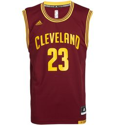 low priced a3c6e 21d92  p Maillot Replica ADIDAS NBA Cleveland Cavaliers Lebron James 23, sans  manches,