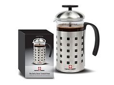 The French Press Coffee and Tea Maker 20oz 600ml 5 cups >>> Be sure to check out this awesome product.Note:It is affiliate link to Amazon.