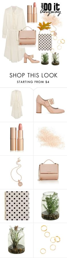 """fashion lady"" by april2635565 ❤ liked on Polyvore featuring See by Chloé, Lanvin, Eve Lom, Folli Follie, Givenchy and Kate Spade"