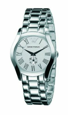 Emporio Armani Men's AR0648 Stainless Silver Dial Watch Emporio Armani. $262.00. Durable mineral crystal protects watch from scratches. Water-resistant to 165 feet (50 M). Stainless steel case. Case diameter: 35 mm. Quartz movement