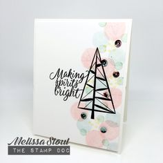Stampin' UP! Twinkle Trees & Tin of Tags by Melissa Stout