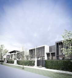 Conrad Architects Luxury Townhouse Development 10