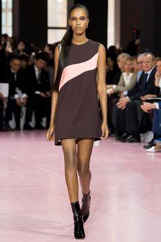 Christian Dior Fall 2015 Ready-to-Wear Fashion Show - Leila Nda (Women)