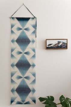 """The best of Arimatsu: My new Itajime shibori wall hanging by Neoko Koyabu"" / Found on Bind|Fold blog"