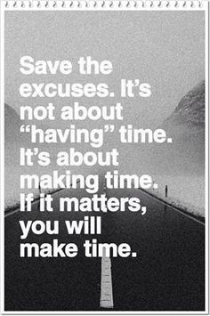 make time!