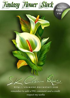 Fantasy Flower V 04 by SK-DIGIART.deviantart.com on @deviantART
