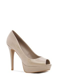 Chaussures peep-toe plateforme Automne-Hiver 2012