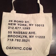 The OAK tote bag  of NYC New no tags tote from the OAK brand seen in asks . Great fashionable tote! Oak Bags Totes