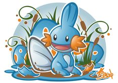 Mudkip by Star-Soul.deviantart.com on @deviantART