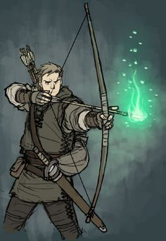 Arcane archer Fantasy Character Design, Character Creation, Character Design Inspiration, Character Concept, Character Art, Concept Art, Archer Characters, Dnd Characters, Fantasy Characters