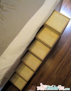 DIY Pet Stairs - Simple Steps You Can Make Yourself