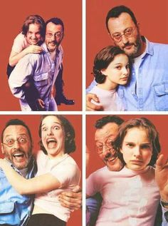 a3e40e31de329 Natalie Portman   Jean Reno - Leon Mathilda Leon, Film Movie, Series Movies,