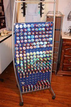 Quilt Room Thread Storage On Pinterest Thread Storage