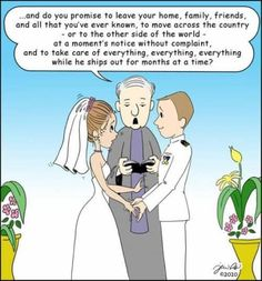 Military Wedding Vows...Basically