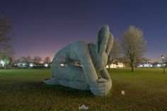 Sophie Ryder exhibition - Salisbury Cathedral, UK